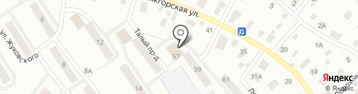Мастерская по ремонту одежды на карте Петрозаводска
