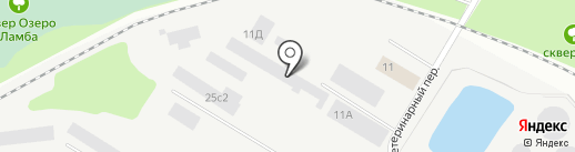 Производственная компания на карте Петрозаводска