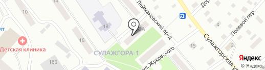 Магазин промтоваров на карте Петрозаводска