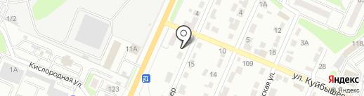 АвтоМол на карте Брянска