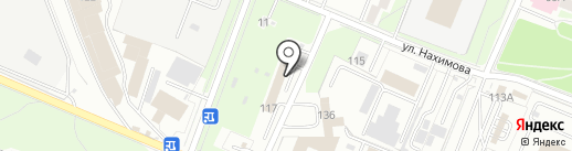 Автосервис №1 на карте Брянска