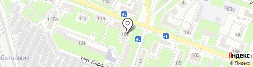 Сайка на карте Брянска