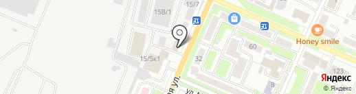 Империя недвижимости на карте Брянска