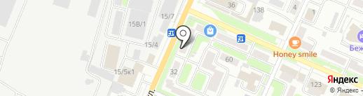Ритуальный магазин на карте Брянска
