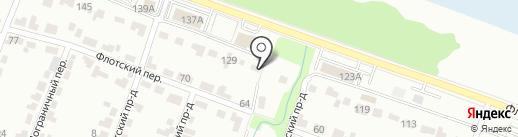 Служба проката спецавтотехники на карте Брянска