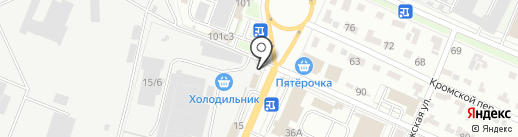 Proball.ru на карте Брянска