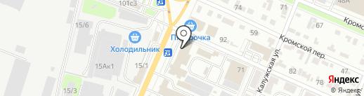 Люстры32.рф на карте Брянска