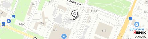Бежица-Универсал на карте Брянска
