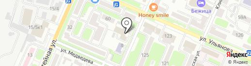 Межрайонная инспекция Федеральной налоговой службы России №5 по Брянской области на карте Брянска