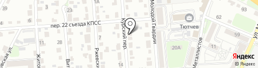 Desna на карте Брянска