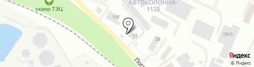 Спецзапчасть на карте Петрозаводска