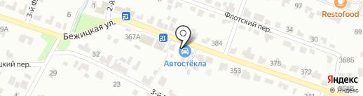 Дом автостекла на карте Брянска
