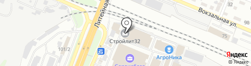 ТРИКОЛОР ТВ БРЯНСК на карте Брянска