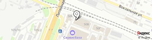 Мебель Шик на карте Брянска