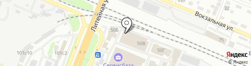 ламинат32.рф на карте Брянска