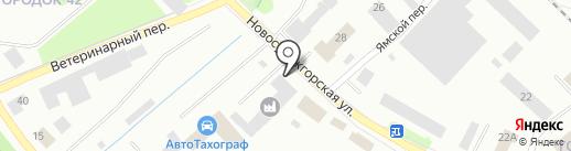 Русмобиль Карелия на карте Петрозаводска