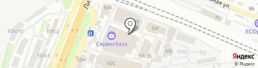 Сантехник на карте Брянска
