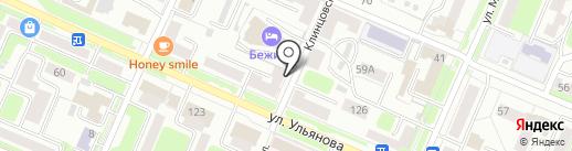ДПО БЦПВ, АНО на карте Брянска