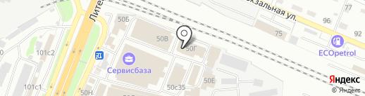 Оптовый магазин отделочных материалов на карте Брянска