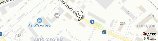АБС ГРУПП на карте Петрозаводска