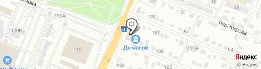 Автомобилист на карте Брянска