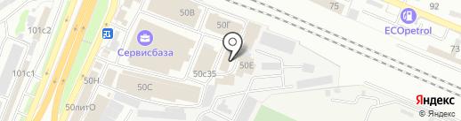 Аквасан на карте Брянска