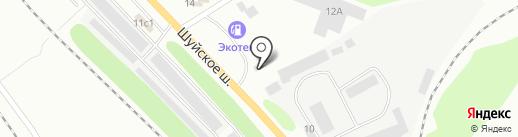 Малх на карте Петрозаводска