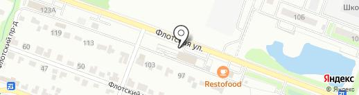 Техномастер на карте Брянска