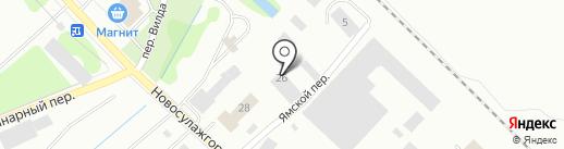 Бест-Авто на карте Петрозаводска