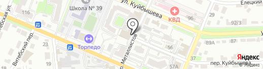Авторитет на карте Брянска