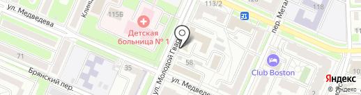 Новые технологии управления на карте Брянска
