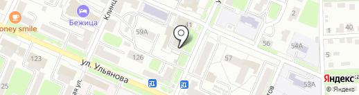 Мировые судьи Бежицкого района на карте Брянска