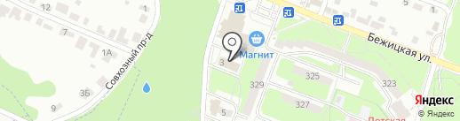 Многопрофильный магазин на карте Брянска