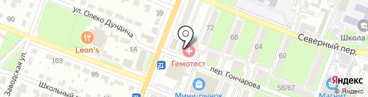 Минбанк, ПАО на карте Брянска