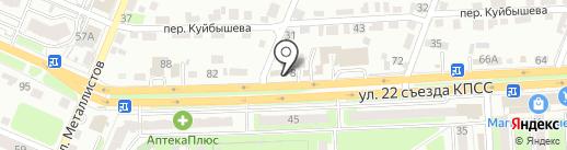 АльфаМоторс_32 на карте Брянска