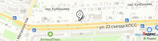 ФОРСАЖ на карте Брянска