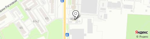 Промтех на карте Брянска