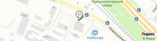 Магазин запчастей для грузовиков, легковых иномарок и спецтехники на карте Петрозаводска