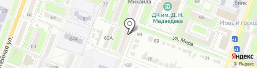 Ива-2 на карте Брянска