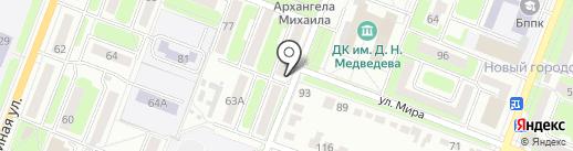 Любовь на карте Брянска