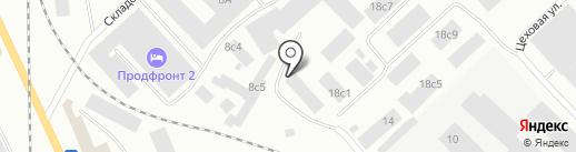ПаллетТрейд на карте Петрозаводска