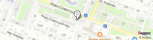 ДЖУС на карте Брянска