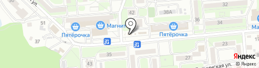 Потолок32 на карте Брянска