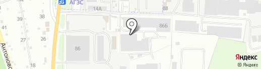 ИнтерФасад на карте Брянска