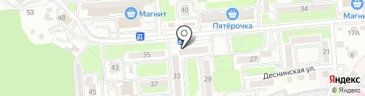 Аркада на карте Брянска