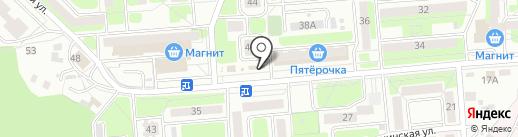 Магазин фруктов и овощей на карте Брянска
