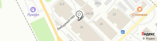 АДВЕНТ на карте Петрозаводска