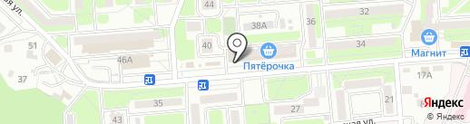 Почтовое отделение №12 на карте Брянска