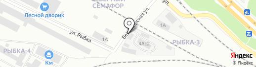 ГРАНДАВТО на карте Петрозаводска