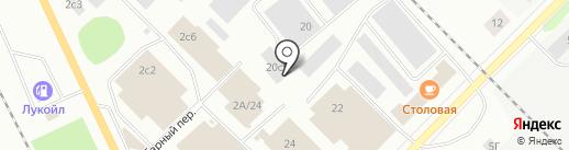 Ремесленник на карте Петрозаводска